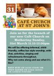 Cafe Church Service